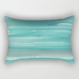 Turquoise Geode Rectangular Pillow