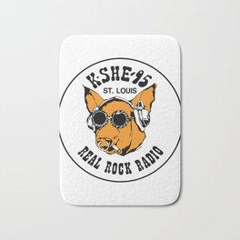 KSHE '95 ST LOUIS REAL ROCK RADIO Bath Mat