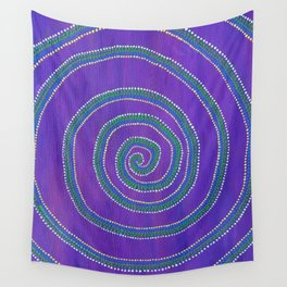 Sprial Wall Tapestry