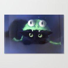 Team Frog Canvas Print