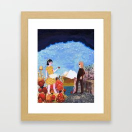 The Two Girls Framed Art Print