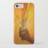prometheus iPhone & iPod Cases featuring Prometheus by Damien Saillet