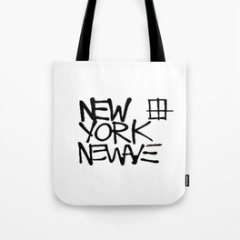 Basquiat New York New Wave Tote Bag