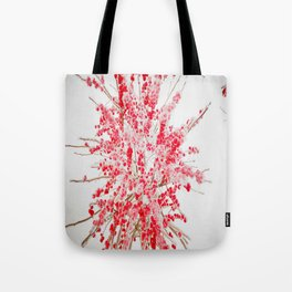 Frozen red Tote Bag