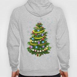 Christmas tree & snow Hoody