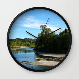 Quillayute River Wall Clock