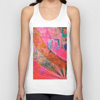grunge Tank Tops featuring Grunge by Fine2art