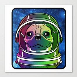 Cosmo the AstroPug Canvas Print