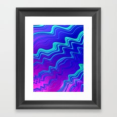 Scribbles Framed Art Print