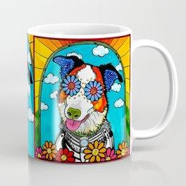 Happy Border Collie Coffee Mug