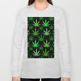 Marijuana Green Weed Long Sleeve T-shirt