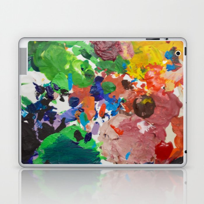 Palette of Colors Laptop & iPad Skin
