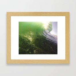 Bright Slab Framed Art Print