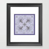 Octo Framed Art Print