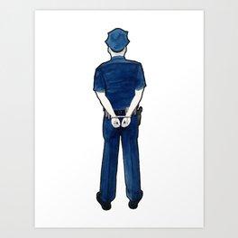 Do the Crime, Do the Time Art Print