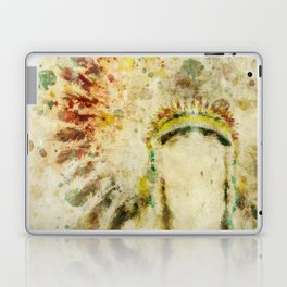 Native American Boho Headdress Laptop & iPad Skin