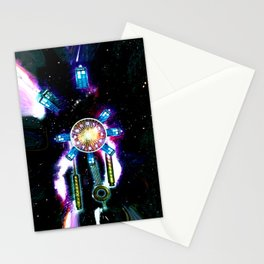 TIME SPACE STATION - 023 Stationery Cards
