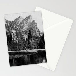 VIEW IN VOSEMITE VALLEY, CALIFORNIA Stationery Cards