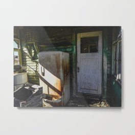 The Front Door Metal Print