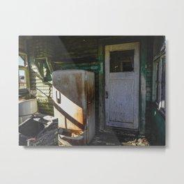 The Front Door Metal Print
