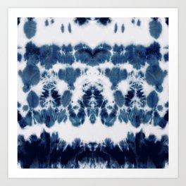 Shibori Not Sorry Art Print