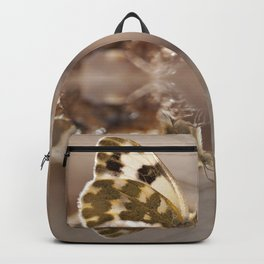 """Reflection of the diurnal butterfly """"Pontia daplidice"""" Backpack"""