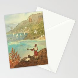 Provincial Polynesia Stationery Cards