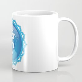 Throat Chakra Symbol Coffee Mug