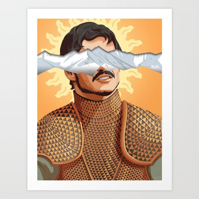 The Prince of the Sun - WORDLESS Art Print