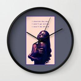 Cherish the Day Wall Clock
