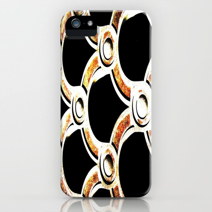 copper rusted cement iPhone Case