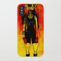 spanish iPhone & iPod Cases featuring Spanish Bull by Eric Bonhomme