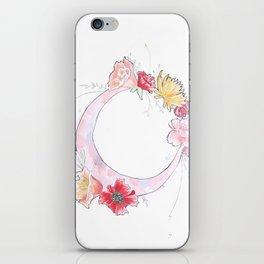 pink moon iPhone Skin