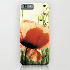 Eclosion de Coquelicot iPhone 6s Slim Case