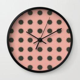 Snow in Summer Wall Clock