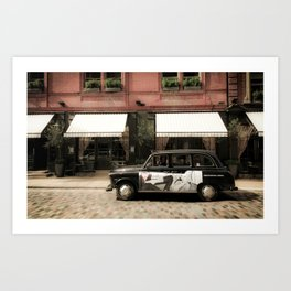 Covent Garden, London Art Print