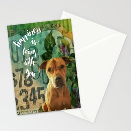 Shelagh Happiness Is Being With You Stationery Cards