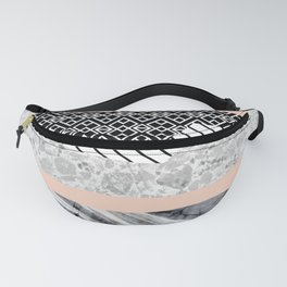 Geometric shapes 02 Fanny Pack