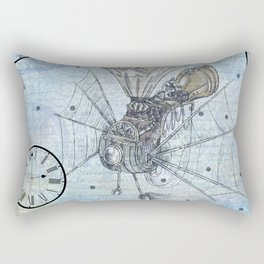 Steampunk Rectangular Pillow