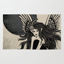 Dark Angel Rug