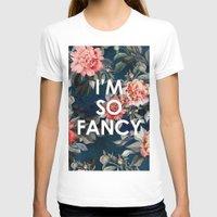 iggy azalea T-shirts featuring I'm So Fancy Iggy Azalea Inspired Watercolor Blush Peonies Art Print by payalprints