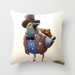 Urban Citizens - Classic Pidgeon Throw Pillow