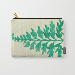 Mint Fern Carry-All Pouch