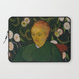 Vincent van Gogh - La Berceuse (Woman Rocking a Cradle; Augustine-Alix Pellicot Roulin, 1851–1930) Laptop Sleeve