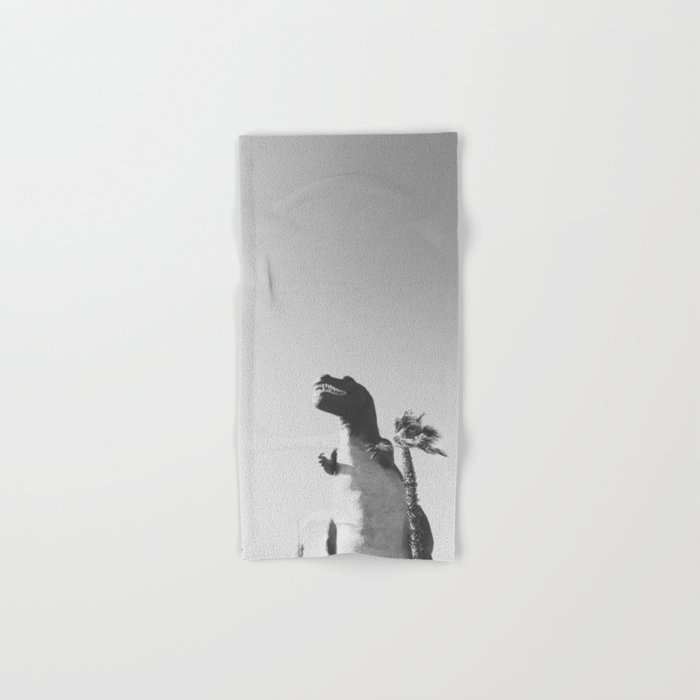 DINO / Cabazon Dinosaurs, California Hand & Bath Towel