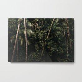 Green forest Siquijor Phillipines    green scenery    Travel Photography   Dark & Green Art Print Metal Print