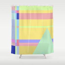 Metro&medio Designs - Wallart Pin-up Shower Curtain