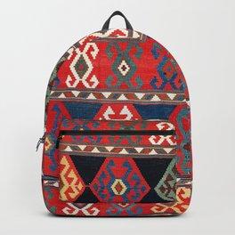 Kuba East Caucasus Kilim Print Backpack
