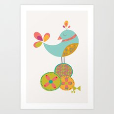 Lovely Bird Art Print