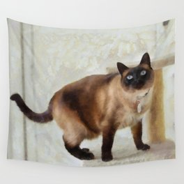 Sulley At Home Wall Tapestry